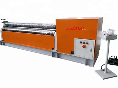 3-Roller Hydraulic Roll Bending Machine
